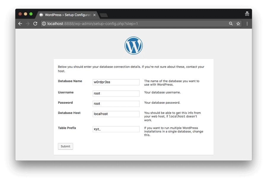 Cài WordPress trên localhost bằng mamp