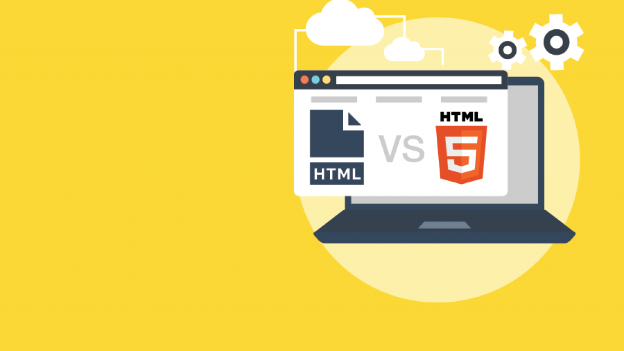 Khác biệt giữa HTML và HTML5 (và những lợi ích của HTML5)