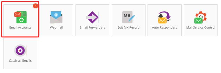 tài khoản email hostinger