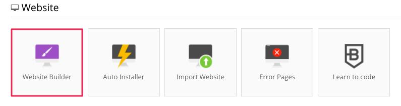 hostinger website builder