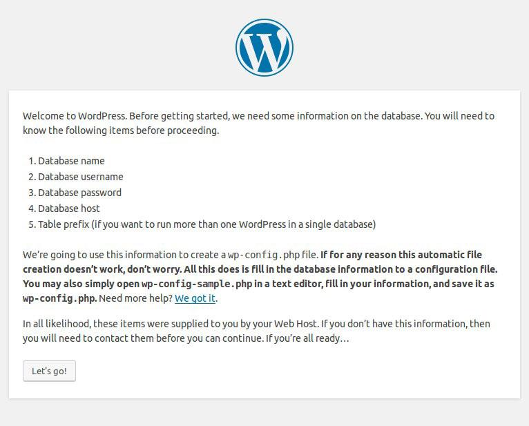 WordPress 5 phút cài đặt trên Ubuntu VPS