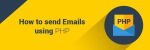 Làm thể nào để gửi email sử dụng php