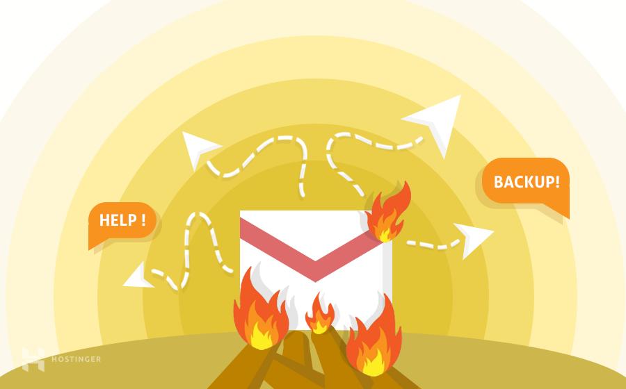 Làm thế nào để backup mail outlook/thunderbird/mac mail