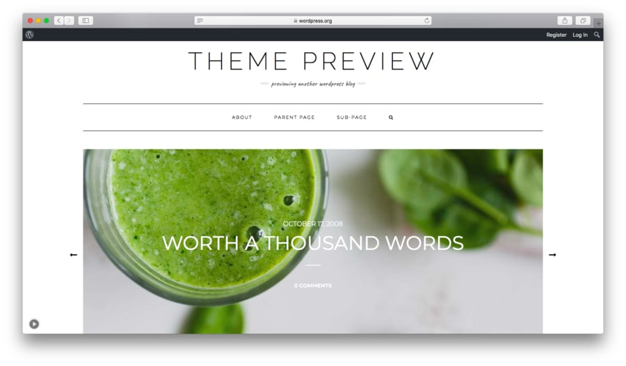 theme wordpress kale