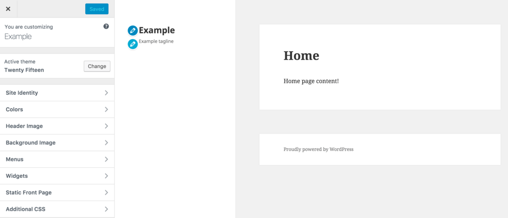 WordPress điều chỉnh cá nhân site