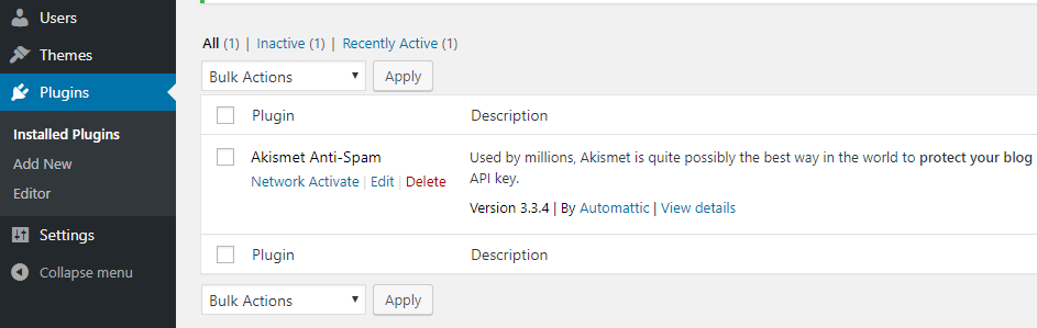Quản lý theme plugin trên network