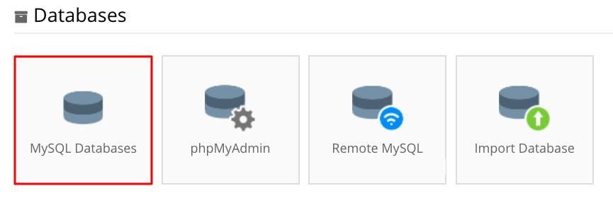 tạo mysql database cho phalcon framework