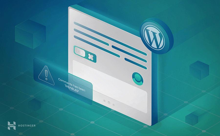 Làm thế nào để tắt comment trong WordPress