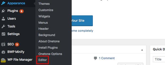 Cài đặt giao diện WordPress