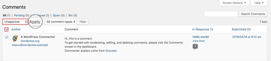 xóa comment WordPress cũ trong bài viết cũ