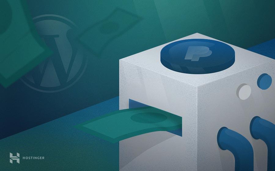 Cách chèn nút PayPal donate vào website WordPress