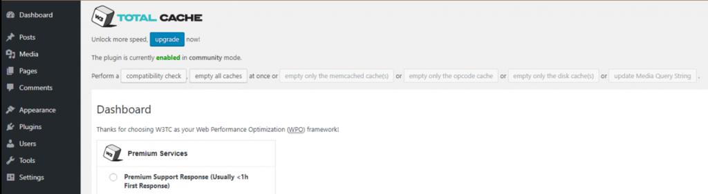 Xóa toàn bộ cache WordPress