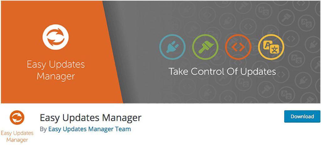 quản lý update bằng easy update manager plugin