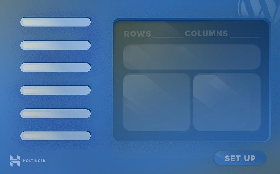 tạo bảng trong WordPress