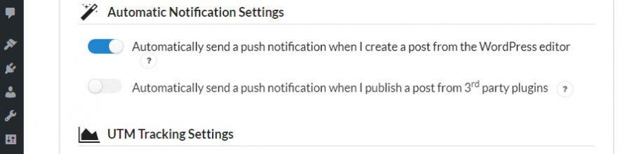 thông báo tự động cho bài viết WordPress mới