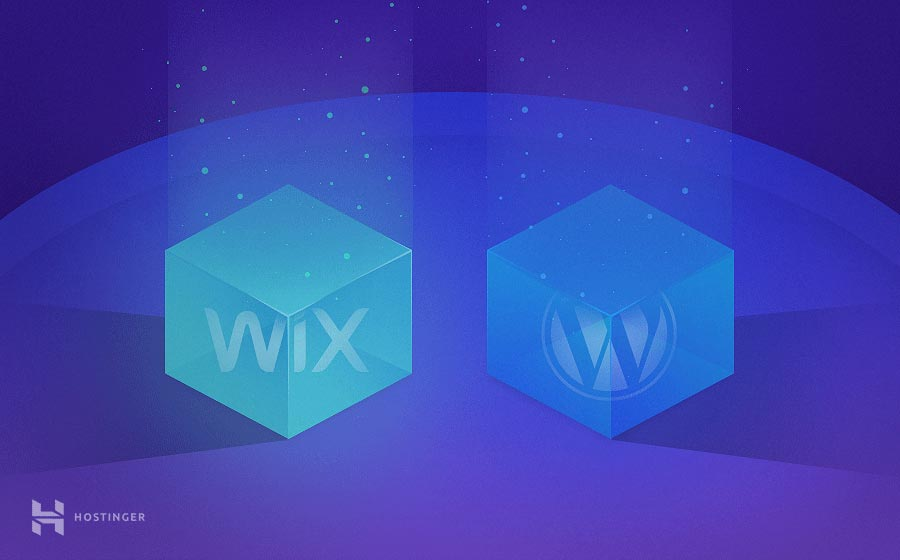 Wix sang WordPress