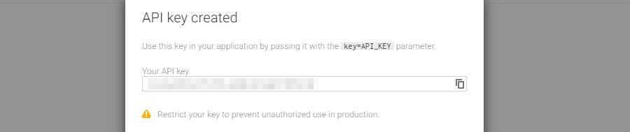 ví dụ api key