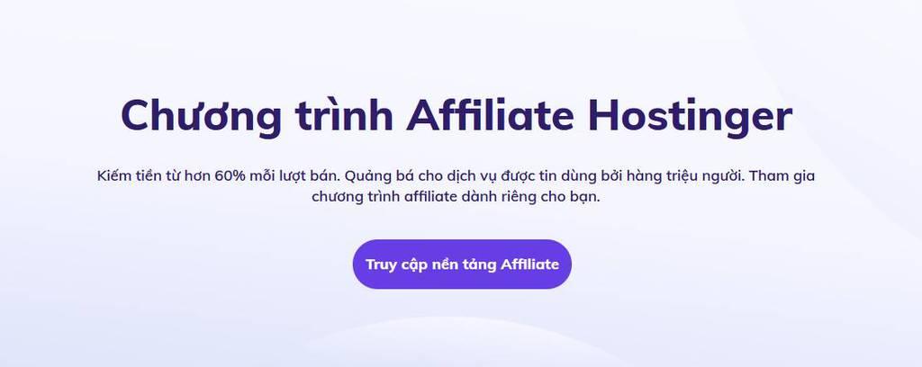 affiliate hostinger