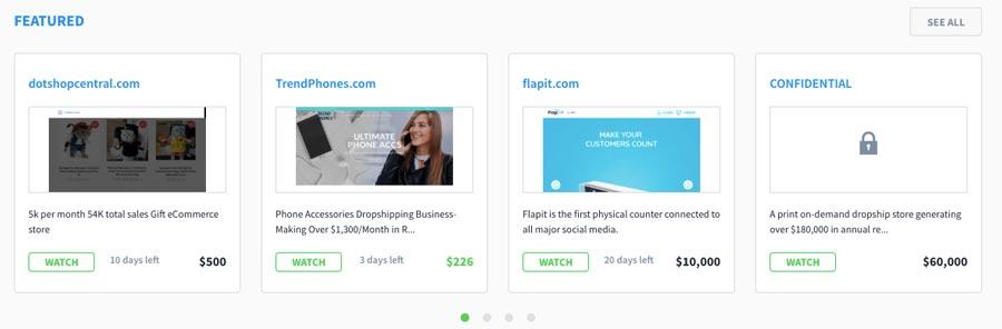 Tạo thu nhập online bằng cách mua bán website