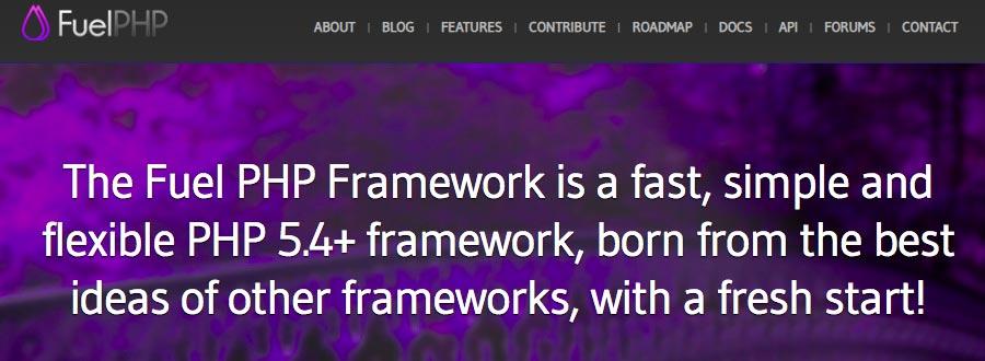fuel php framework