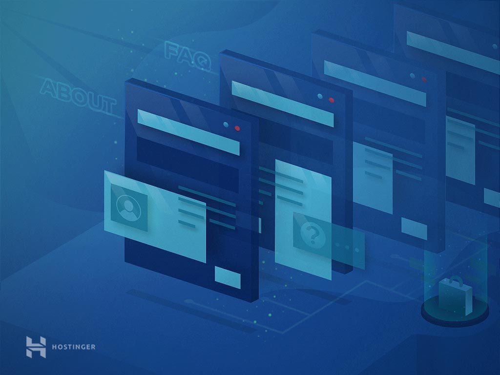 Cấu trúc website thương mại cần phải có các trang nào?