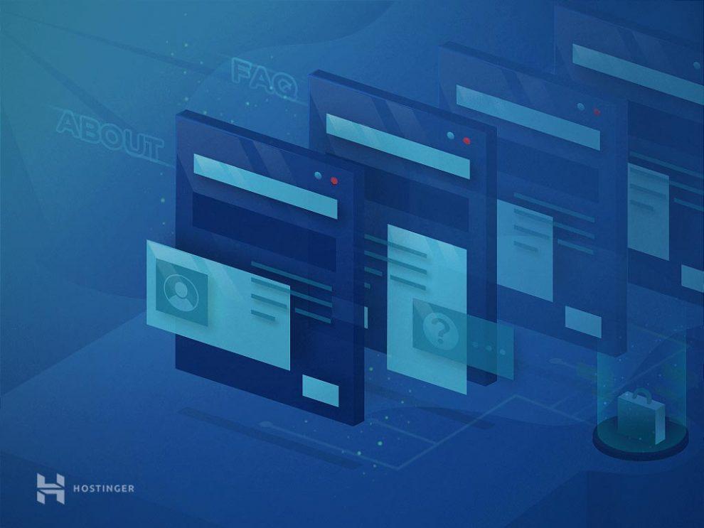 cấu trúc website