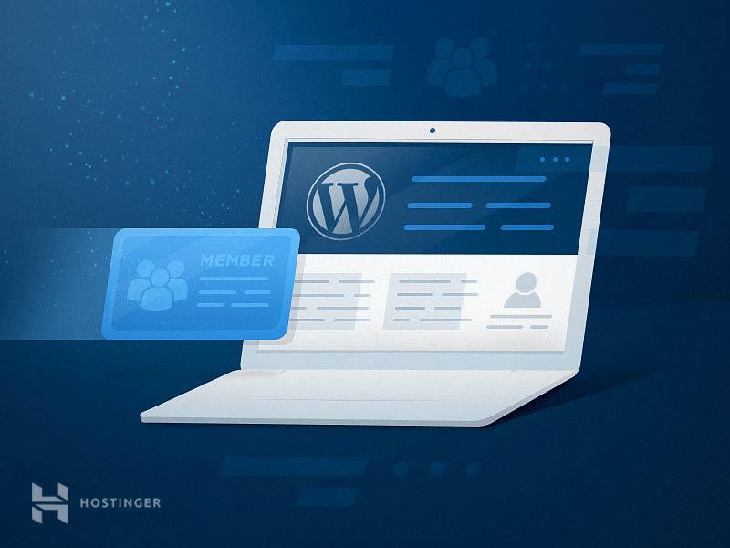 Cách tạo form đăng ký thành viên trong WordPress (tạo membership site)