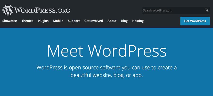 trang chủ WordPress.org