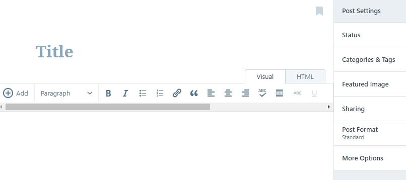 trình biên tập WordPress.com