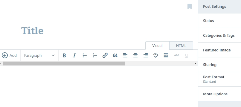 WordPress.com editor