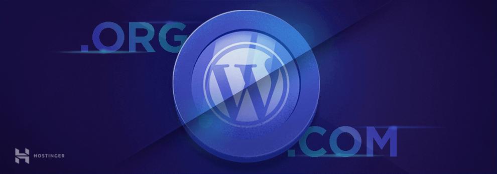 WordPress.com và WordPress.org
