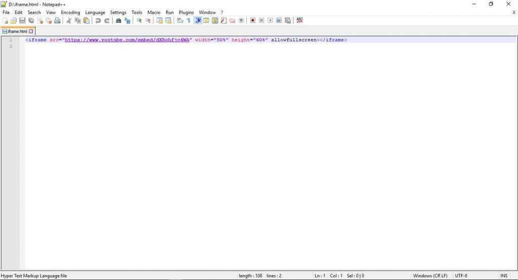 2 notepad html editors