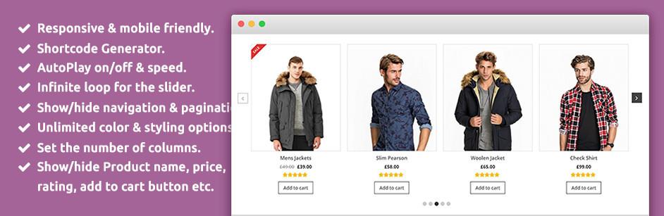 Plugin hay cho WooCommerce = SP WooCommerce Product Slider