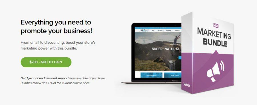 Plugin hay cho WooCommerce: WooMarketing Bundle