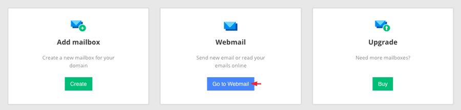 chuyển tới webmail