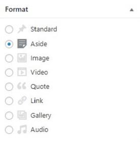 format wordpress taxonomy