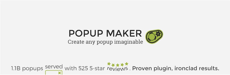 plugin popup WordPress popup maker
