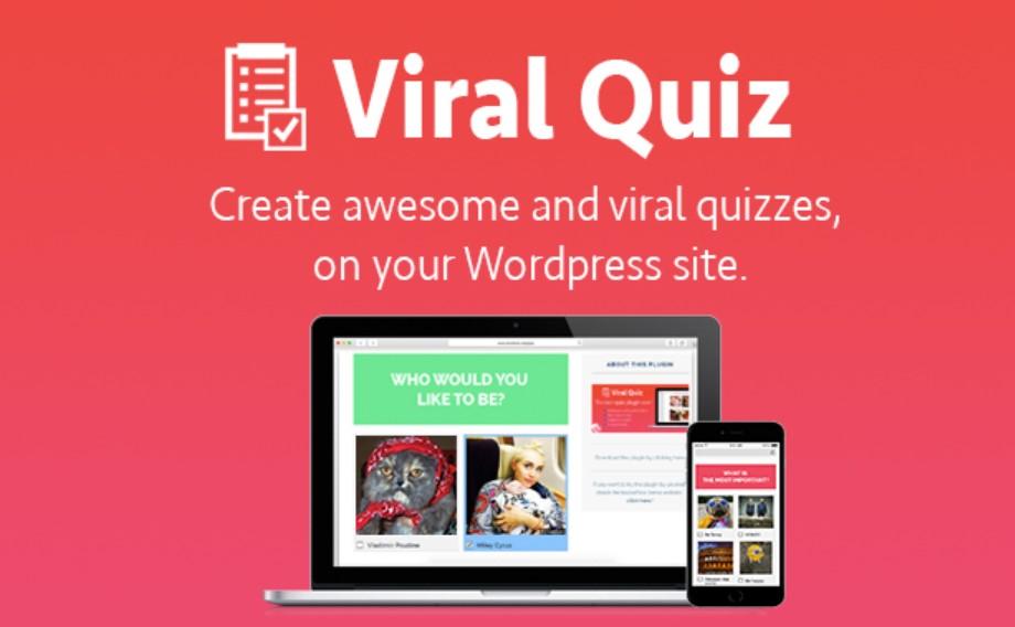 plugin quiz trắc nghiệm wp viral quiz