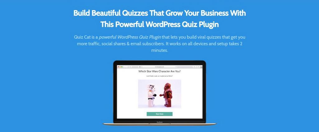 plugin tạo trắc nghiệm online quiz cat