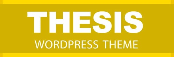 thesis wordpress framework