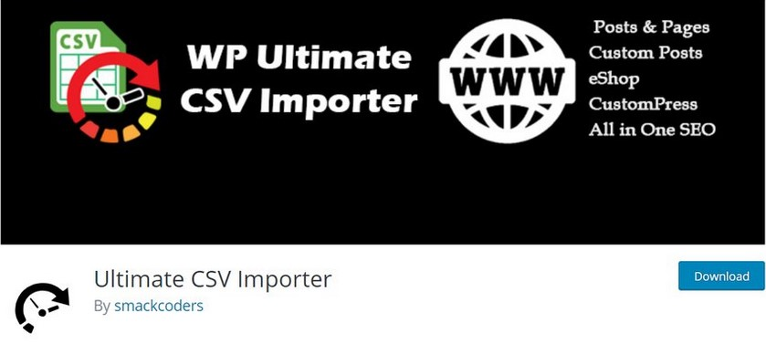 ultimate csv impoter