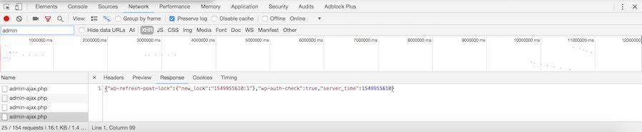 admin-ajax.php trigger trên backend