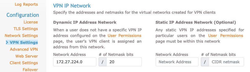 cấu hình vpn open vpn server