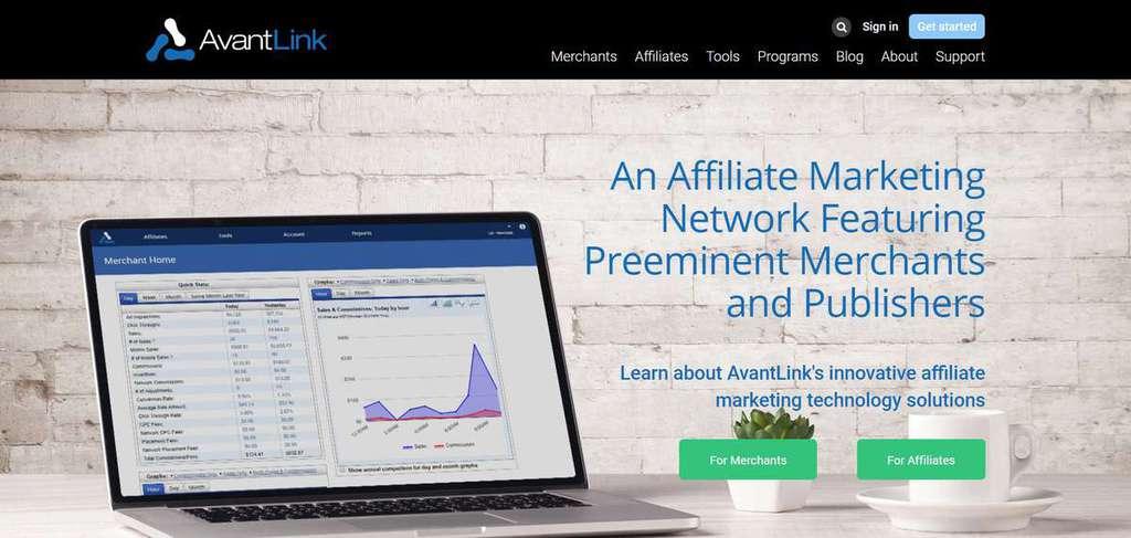 chương trình tiếp thị liên kết avantlink affiliate