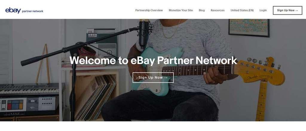chương trình tiếp thị liên kết ebay