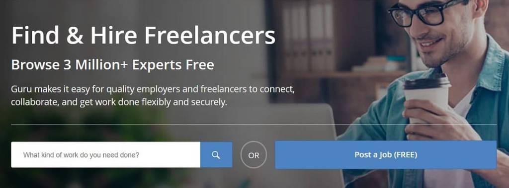 freelance guru job