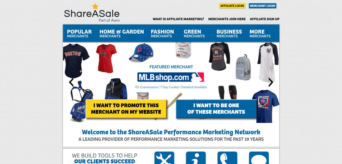 shareasale affiliate marketing programs