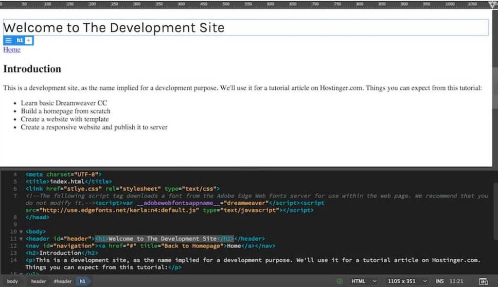 áp dụng font dreamweaver