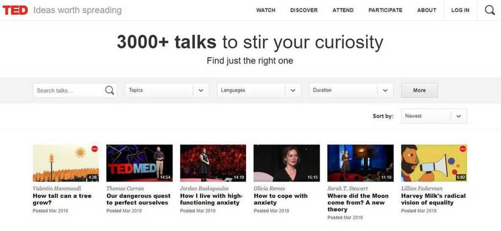 ted talk public speaking blog