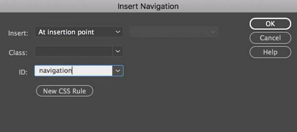 thêm navigation